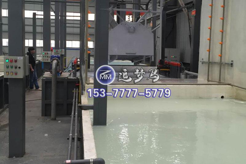 湖南长沙县垃圾箱自动千亿国际娱乐平台qy生产线